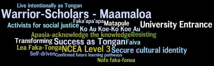 Tongan graduate profile